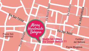 Come raggiunger il Merry Handmade Bologna